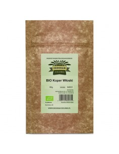 Organic Fennel Seeds - 50g