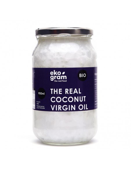 Organic Coconut Oil  Extra Virgin 900ml