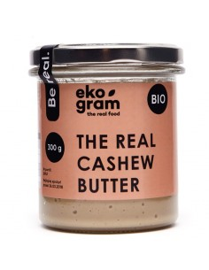 Organic Cashews Paste - 100% Cashews - 300g