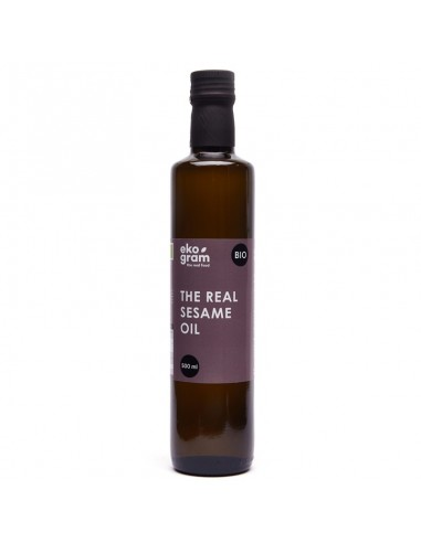Organic Sesame Oil - Extra Virgin