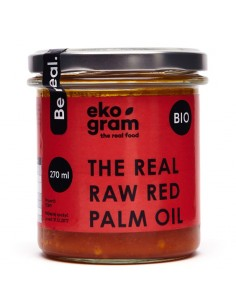 Organic Red Palm Oil - Raw - 270ml