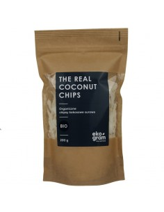 Organic Coconut Chips - RAW - 200g