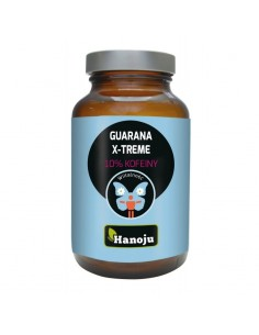 Guarana X-treme z 10% kofeiny - 500mg - 90 tabletek - Hanoju