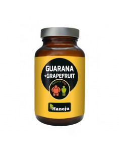 Guarana + Grapefruit 450mg - 60 capsules - Hanoju
