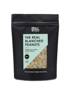 Organic Peanuts Blanched - 400g