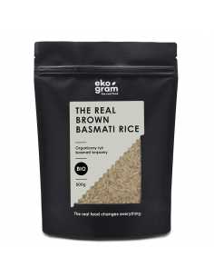 Organic Basmati Rice - Brown - 500g