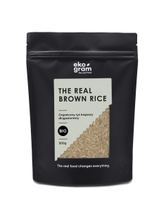 Organic Long Grain Rice - Brown - 500g