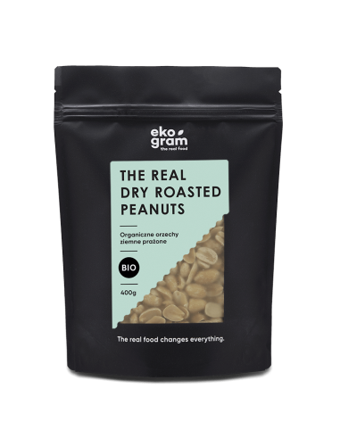 Organic Peanuts - Roasted - 400g
