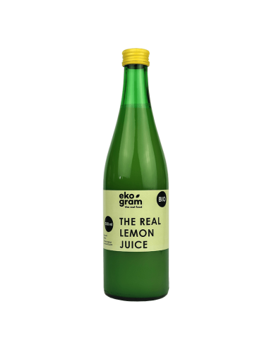 Organic Lemon Juice 500ml