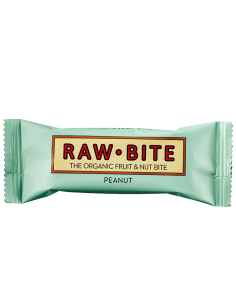 RAW BITE - Bar - Organic Peanut