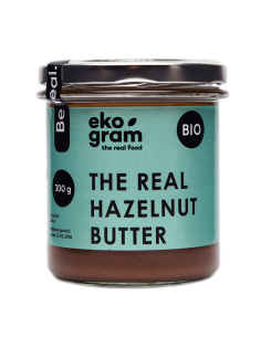 Organic Hazelnut Paste - Roasted - 300g