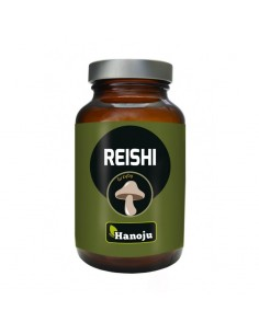 Reishi - 30% Extract - 400mg - 90 caps - Hanoju