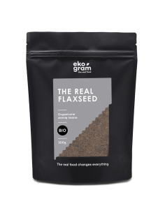 Organic Brown Flaxseeds - Whole - 500g