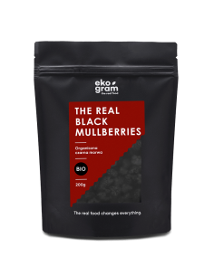 Organic Black Mullberry - 200g