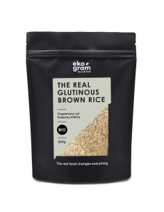 Organic Glutinous Brown Rice - 500g