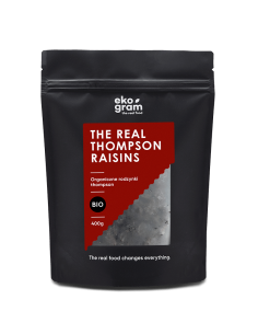 Organic Thompson Raisins - 400g