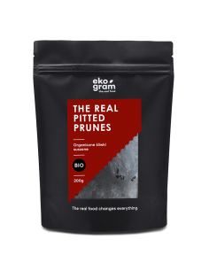 Organic Pitted Prunes - 200g