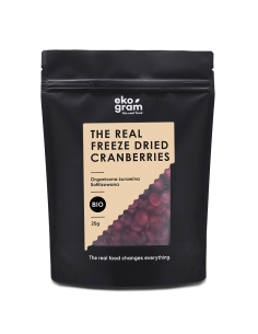 Organic Cranberries - Freeze Dried - 25g
