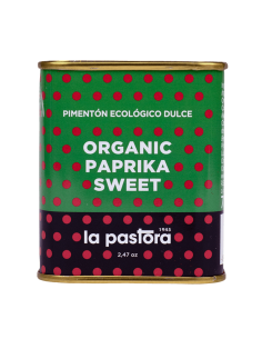 Organic Sweet Red Pepper - Powder - 75g - La Pastora