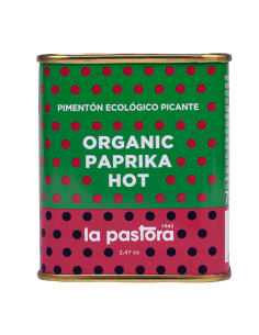 Organic Hot Red Pepper - Powder - 75g - La Pastora