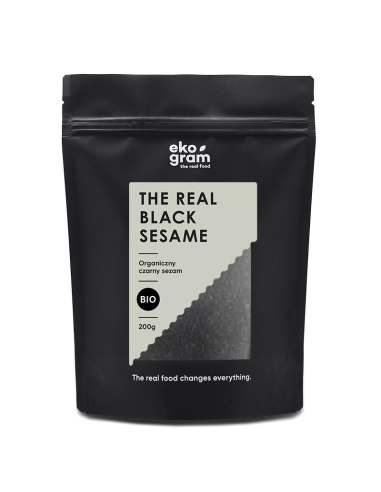 Sezam czarny BIO - 200g - Ekogram - The Real Food