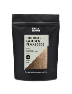Organic Blond Flaxseeds - Whole - 500g