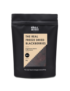 organic blackberries freeze dried 25g ekogram