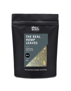 Organic Hemp Leaf - Hemp Tea - 30g