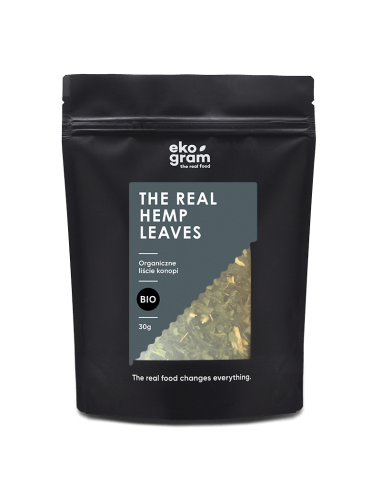 organic hemp leaves 30g ekogram
