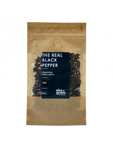 Organic Black Pepper - Whole - 50g