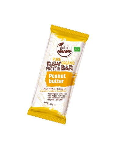 Pure Organic Raw Protein Bar Coconut Vanilla Lemon