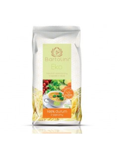 BIO Pasta 2-Egg - Medium Cut - 250g - Bartolini