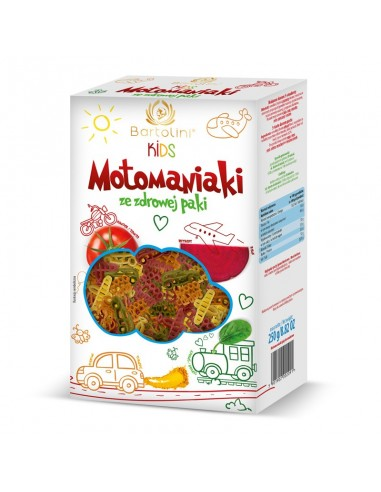 Pasta for Kids - MotoManiaki - 5 Spices - 250g - Bartolini