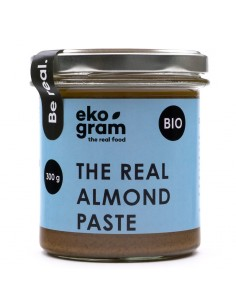 Organic Almond Paste - 100% Almonds - 300g