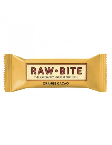 RAW BITE - Bar - Organic Orange Cacao