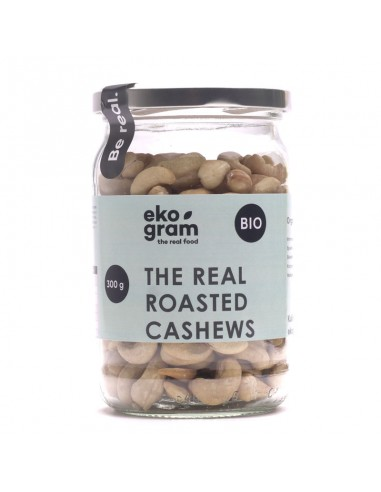 Organic Cashews - Roasted - 300g - ekogram